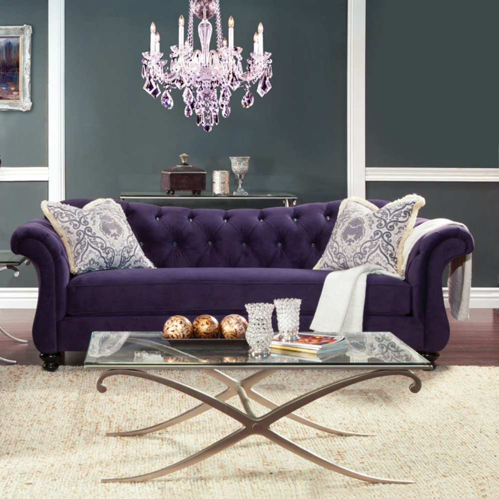Furniture of America Wellington Sofa