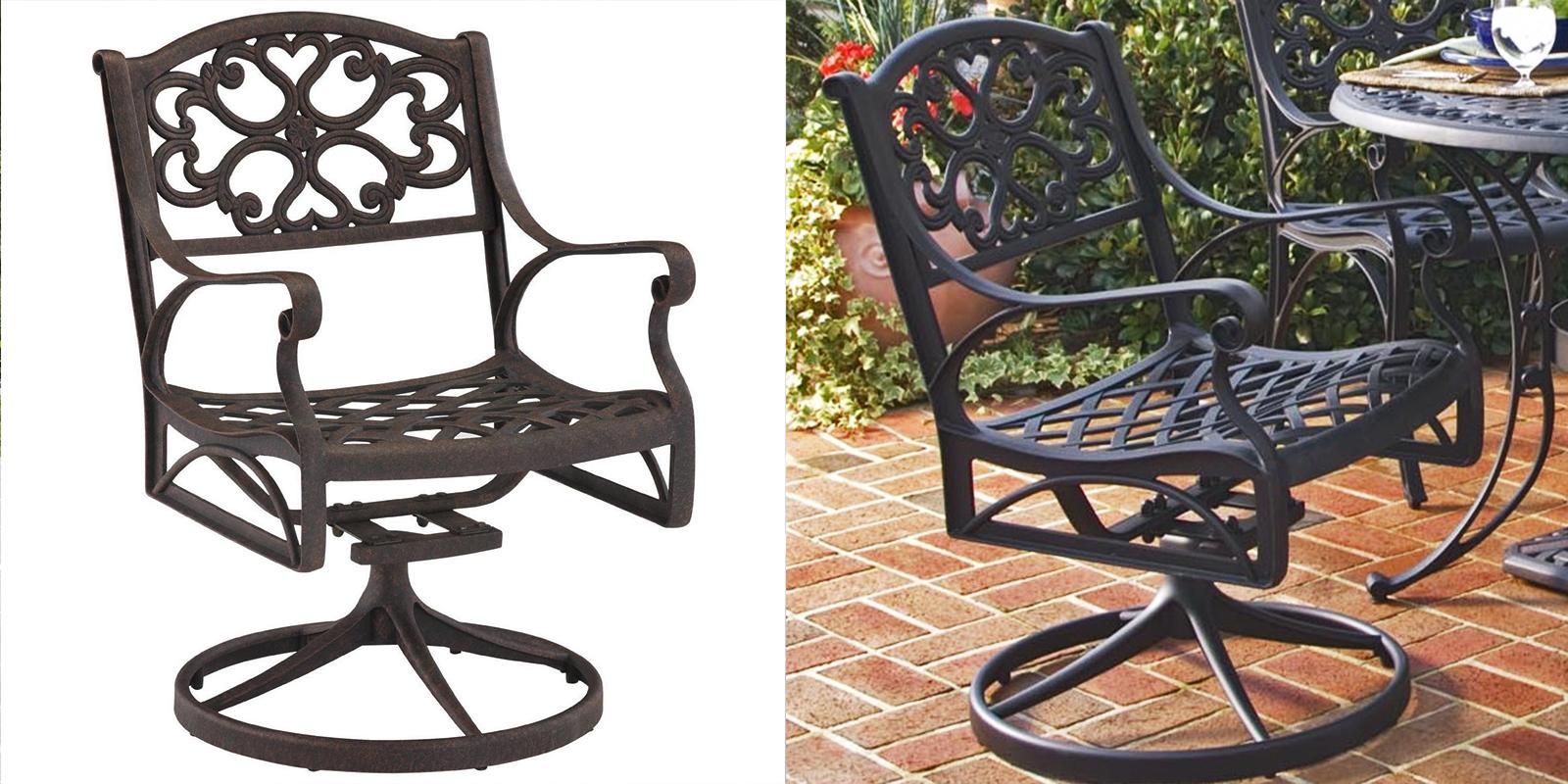 Patio Chair - Swivel-Rocking Arm Chair