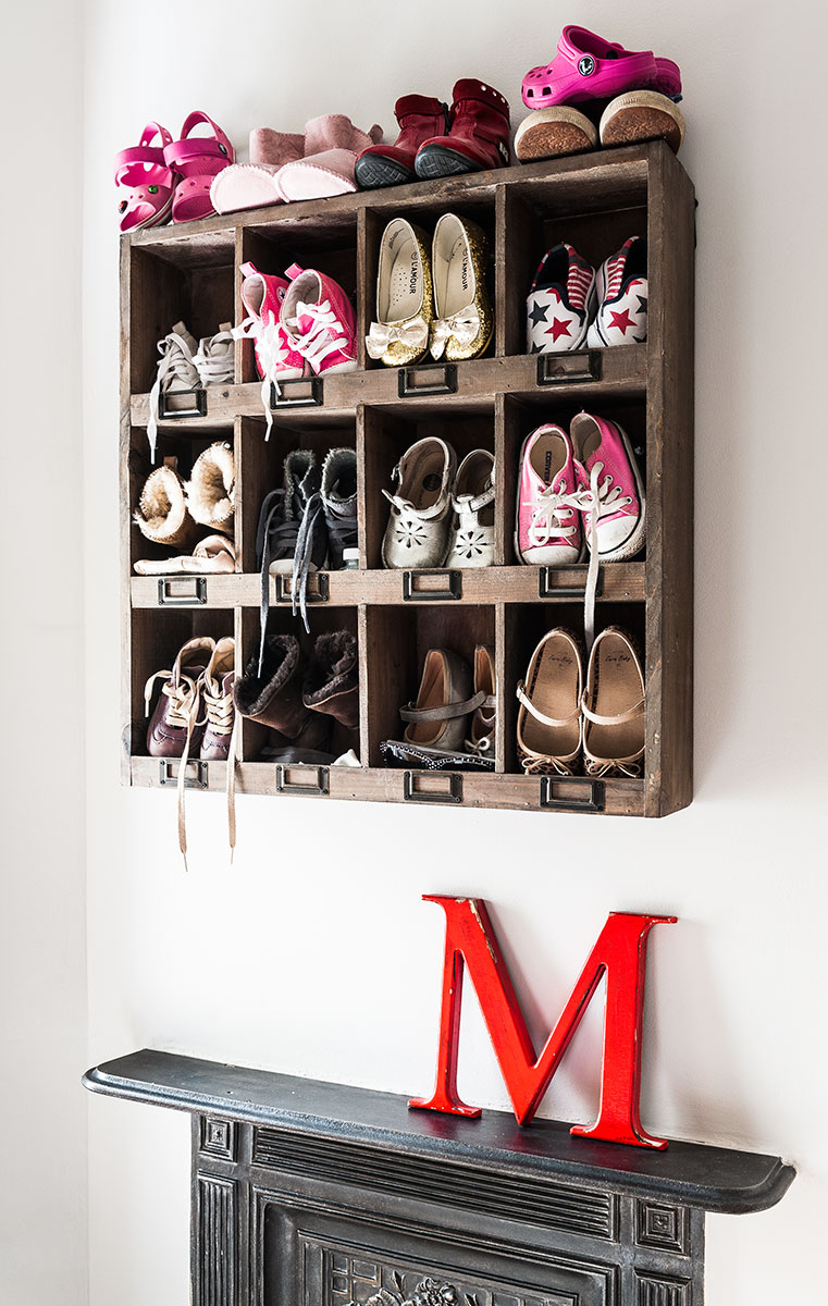 shoe cubby wall cabinet
