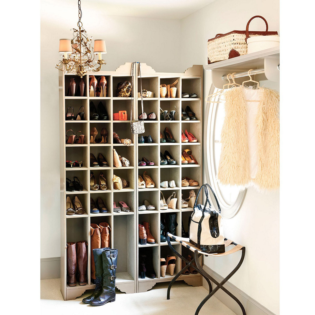 50 best shoe storage ideas for 2018 for Fabriquer meuble chaussure