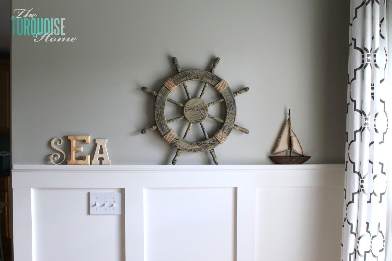 Laidback coastal mantle summer house ideas