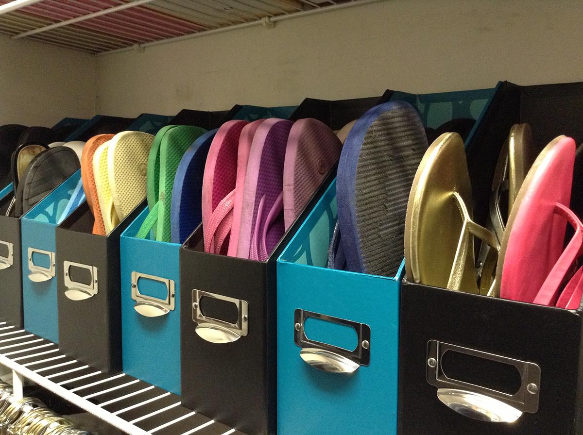 Portable Shoe Boxes