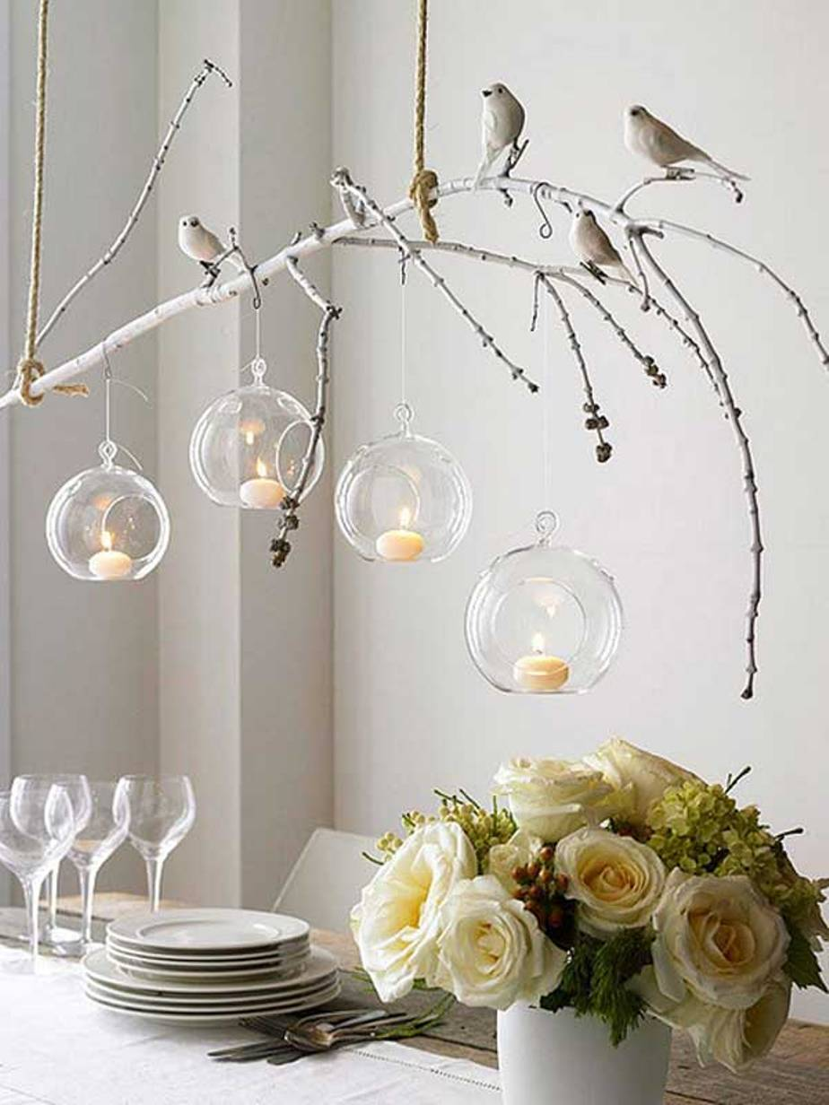Organic handmade summer chandelier — Homebnc