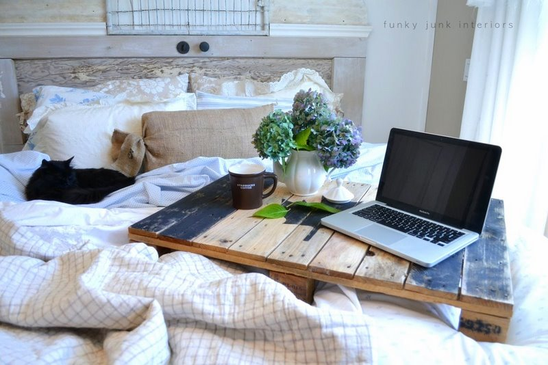 Bed Table for Two