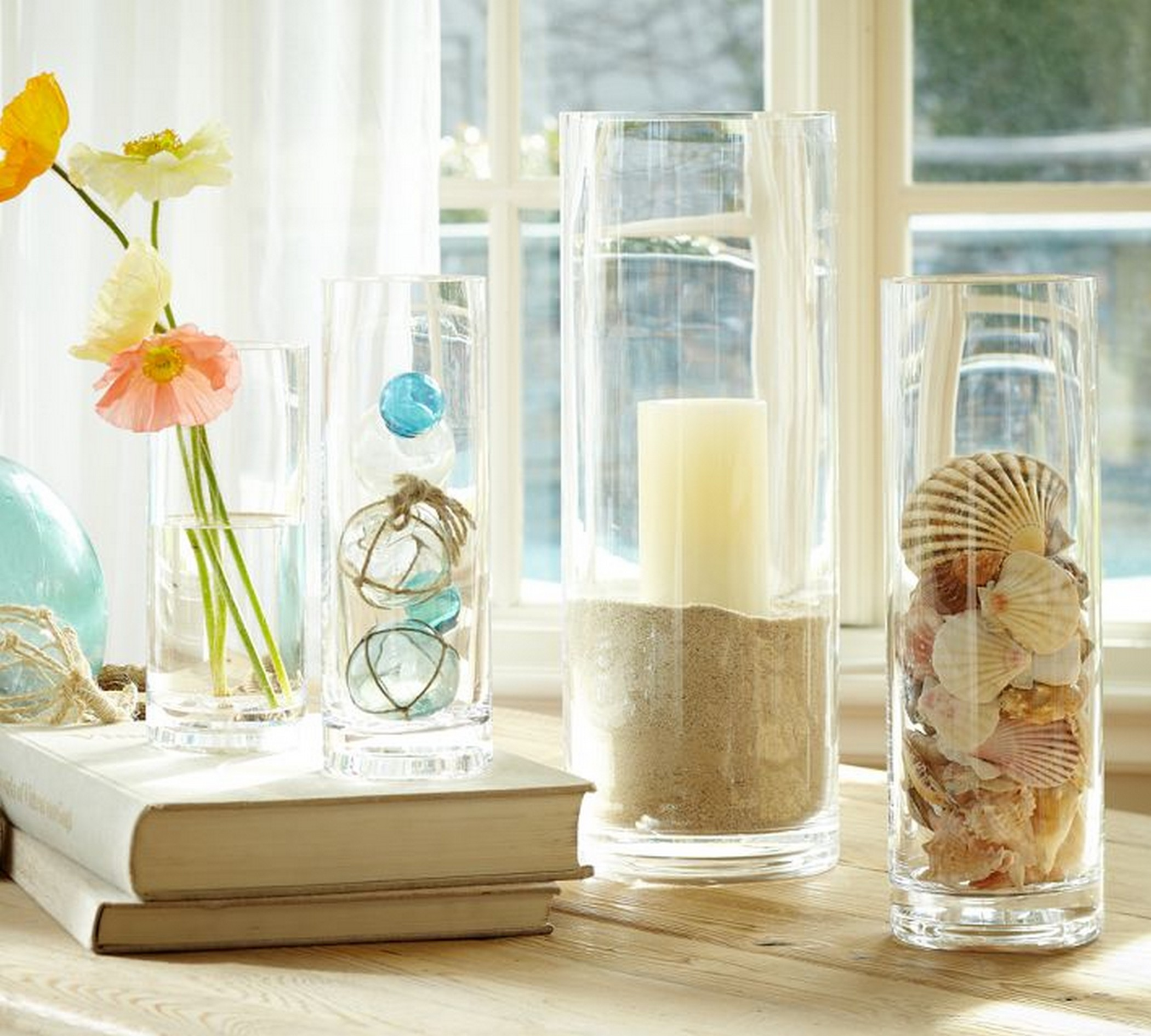 Summer Home Decor Ideas Part - 15: Bright Summer Candle Holder