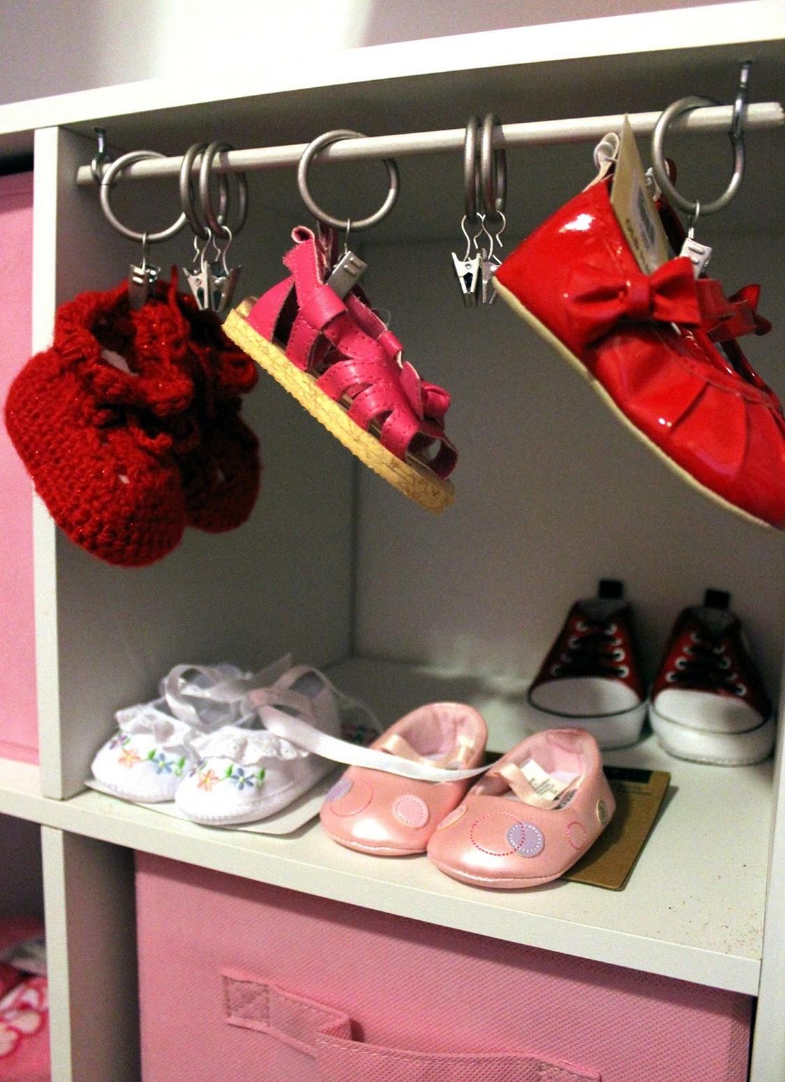 Baby Shoe Hooks