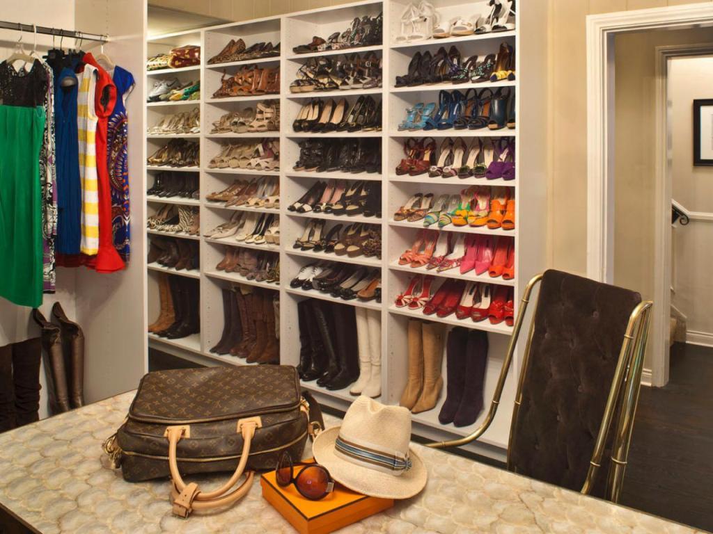 Best Shoe Rack Ideas Basic Closet Shoe Shelves ... Part 81