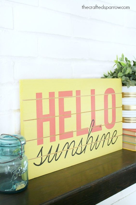 Summer themed sign