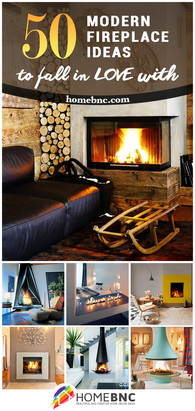 most modern fireplace design ideas