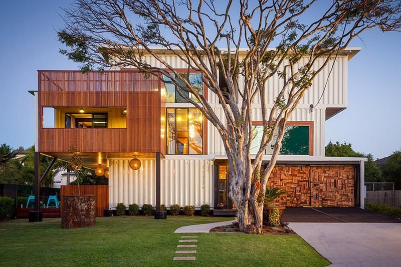 Stunning Shipping Container House Design Ideas - Style Motivation