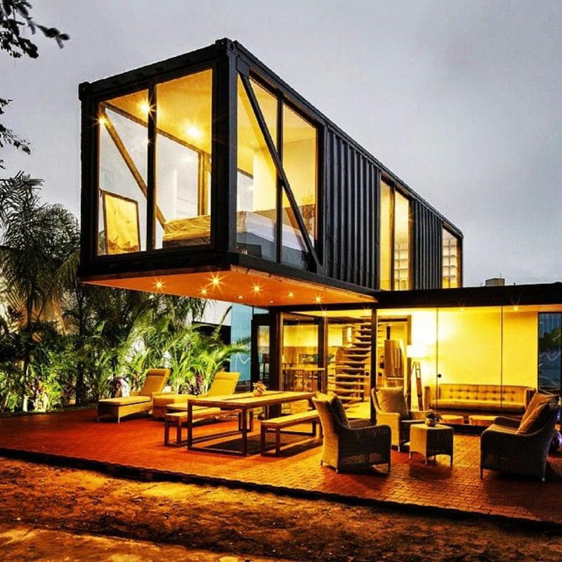 Exceptional Stunning Shipping Container House Design Ideas