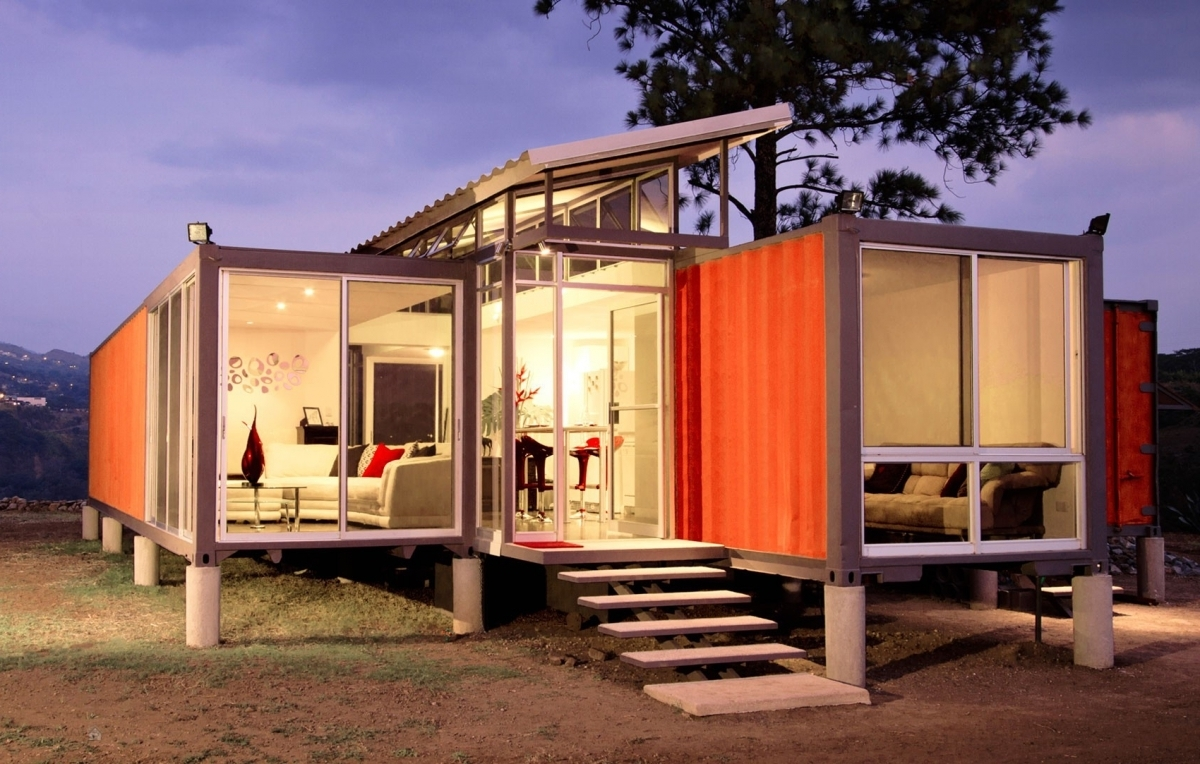 container homes. latest the very green six recycled shipping
