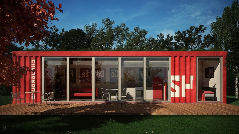 cheap with homes made from shipping containers