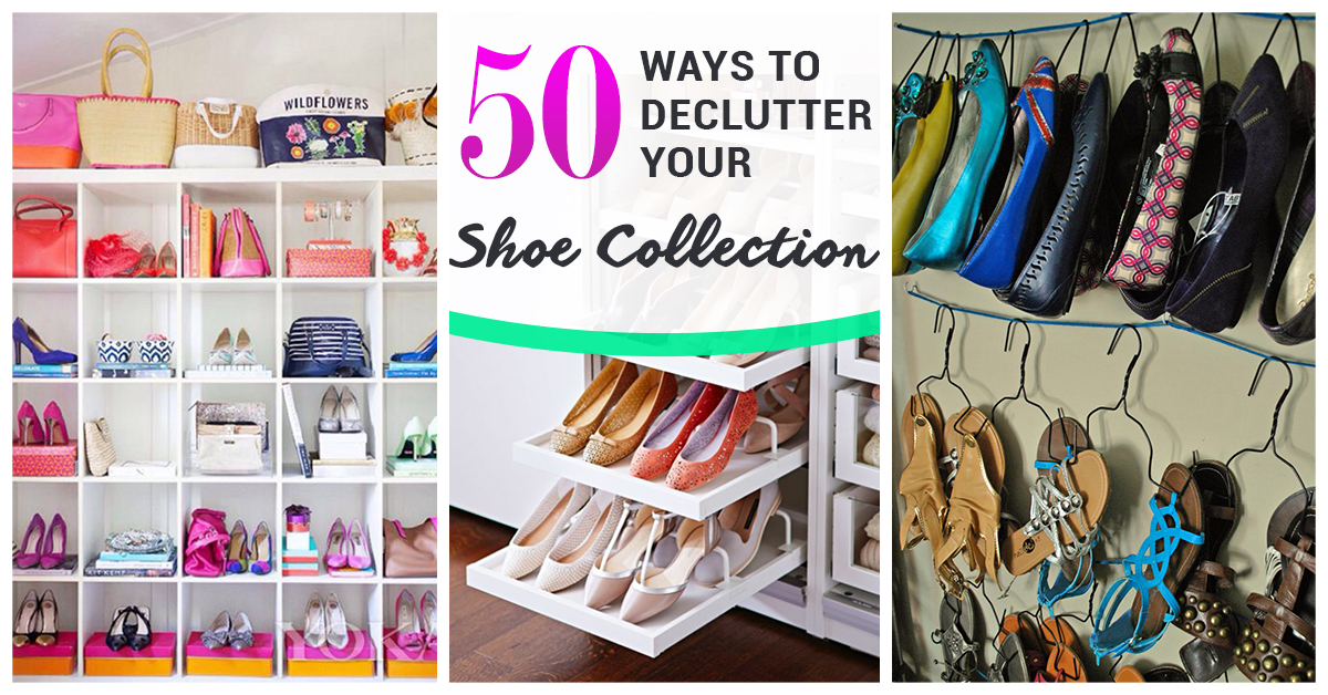 sc 1 st  Homebnc & 50 Best Shoe Storage Ideas for 2018