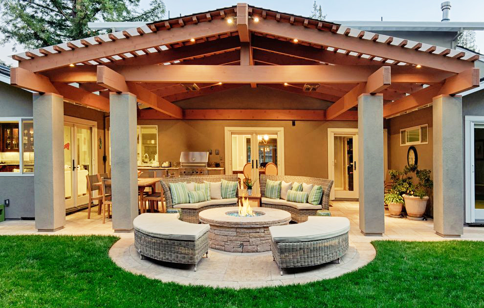 affordable ideas for a cozy look - Fire Pit Ideas Patio