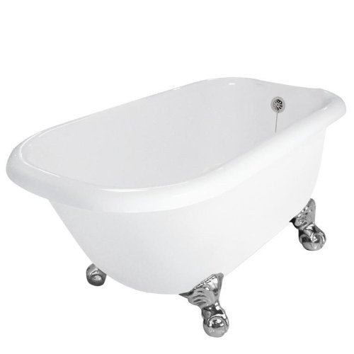 Jester 54u201d X 30u201d AcraStone Traditional Bathtub From American Bath Factory
