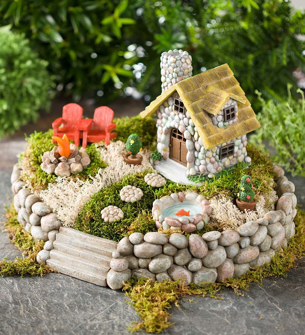 1 summer in the adirondacks - Diy Fairy Garden Ideas