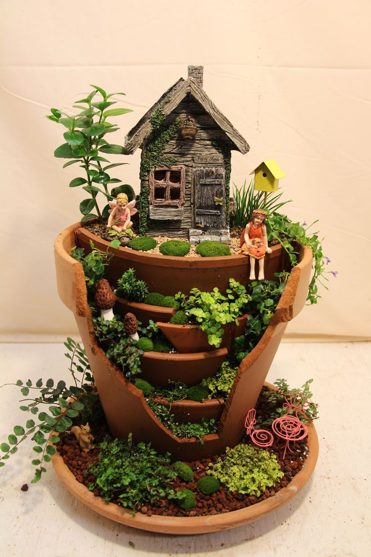 come to my tree house - Fairy Garden Design Ideas