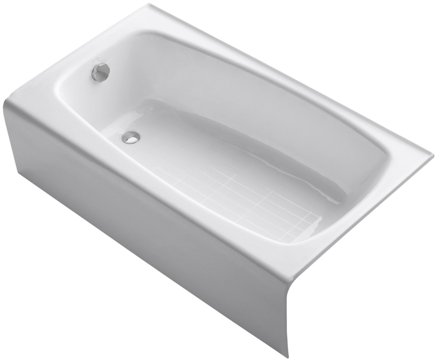 ob melinda 60 inch white acrastone bath tub from american bath factory