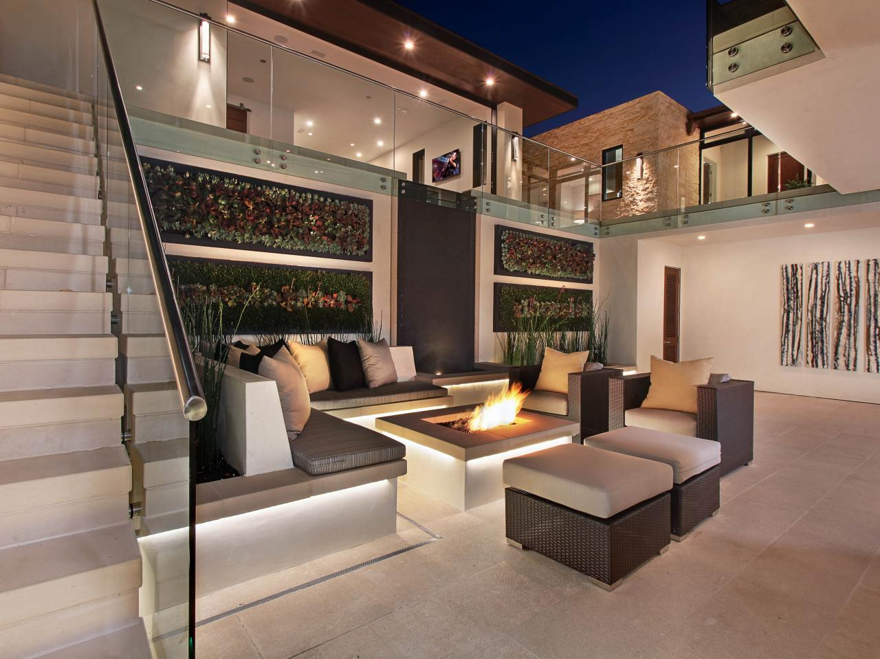 Indoor-Outdoor Fire Table
