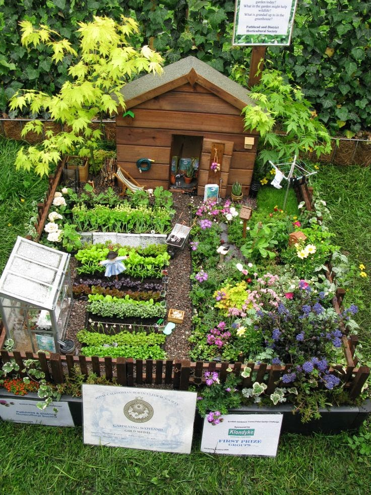 a garden within your garden - Fairy Garden Design Ideas