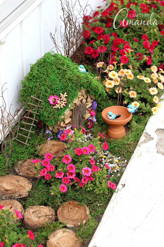 18 miniature fairy garden design ideas style motivation for Fairy garden decorating ideas