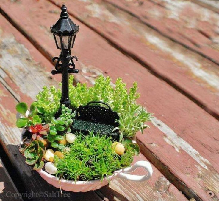 18 Miniature Fairy Garden Design Ideas