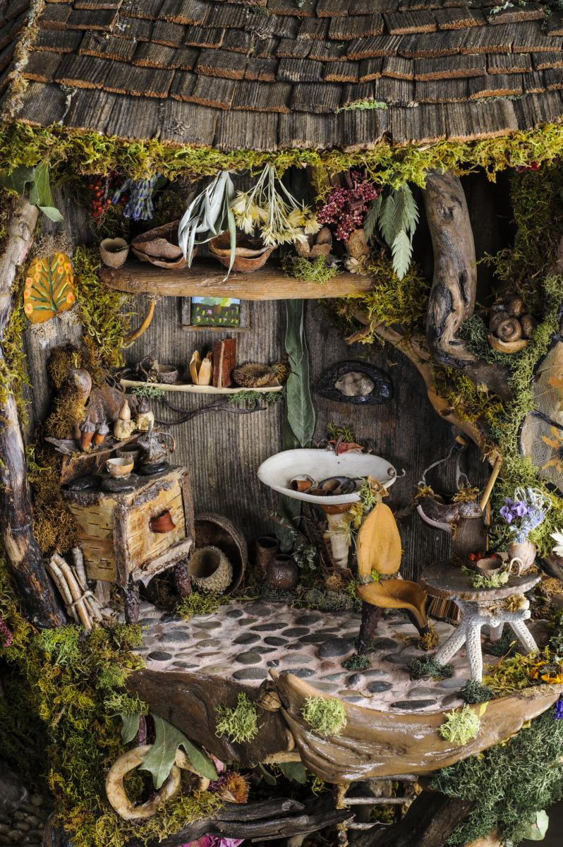 Fairy Garden Ideas Diy 2 house for the fairies Weirdly Strange Fairy Garden Idea