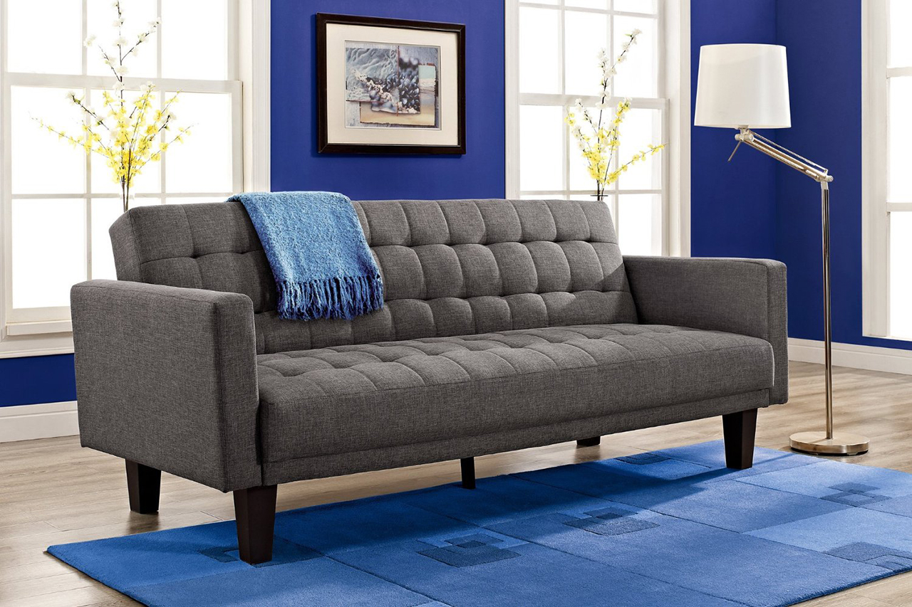 13 dhp sienna sofa sleeper in gray