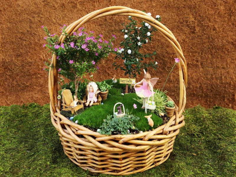 Miniature Fairy Garden Ideas ad diy ideas how to make fairy garden 16 Its Almost Easter