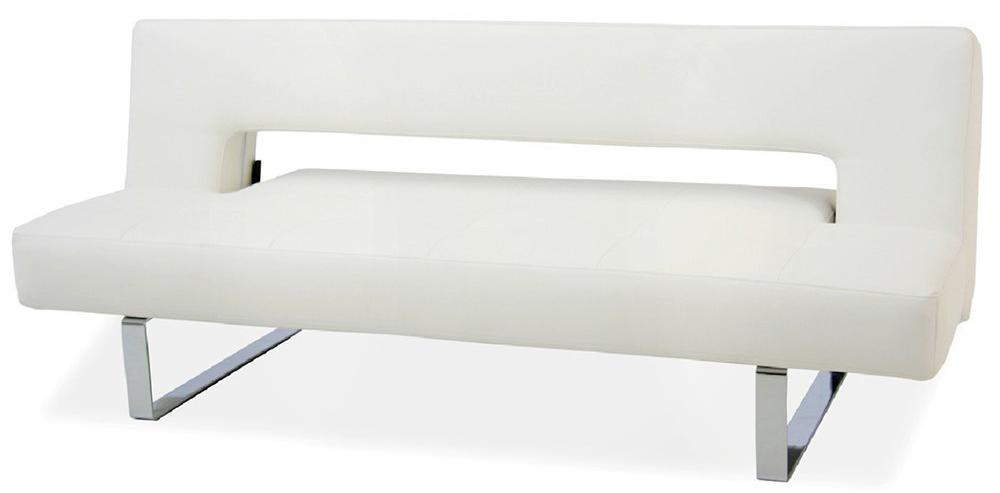 19 ido furniture miami modern sofa bed pu leather white