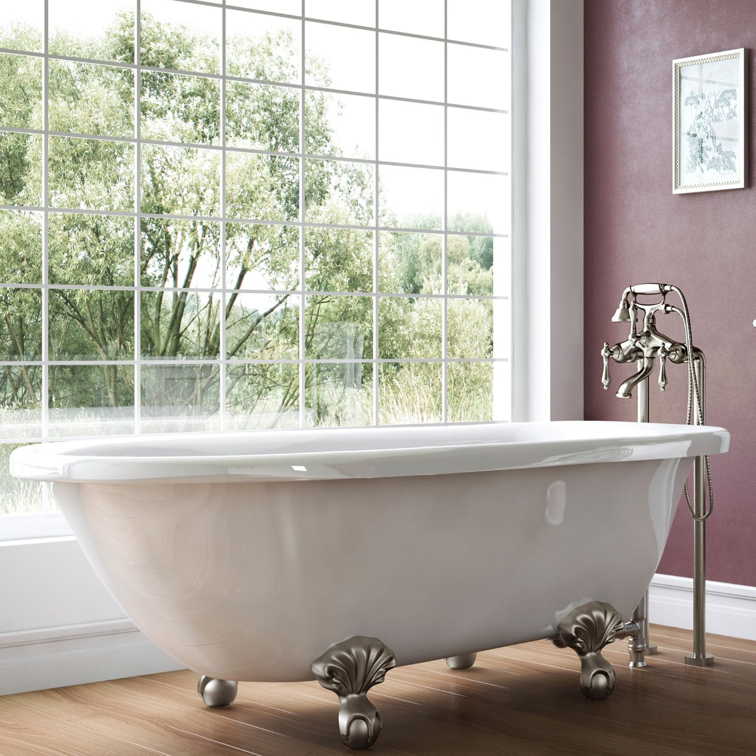 Luxury Highview Collection Tub from Pelham and White 20 Best Small Bathtubs to Buy in 2017
