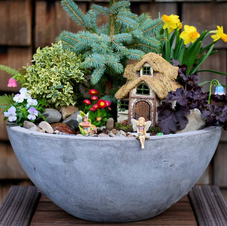 Magical Fairy Garden Designs: The 66 Best DIY Magical Fairy Garden Ideas For Your Kids