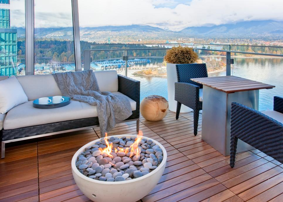 High Rise Patio Pit