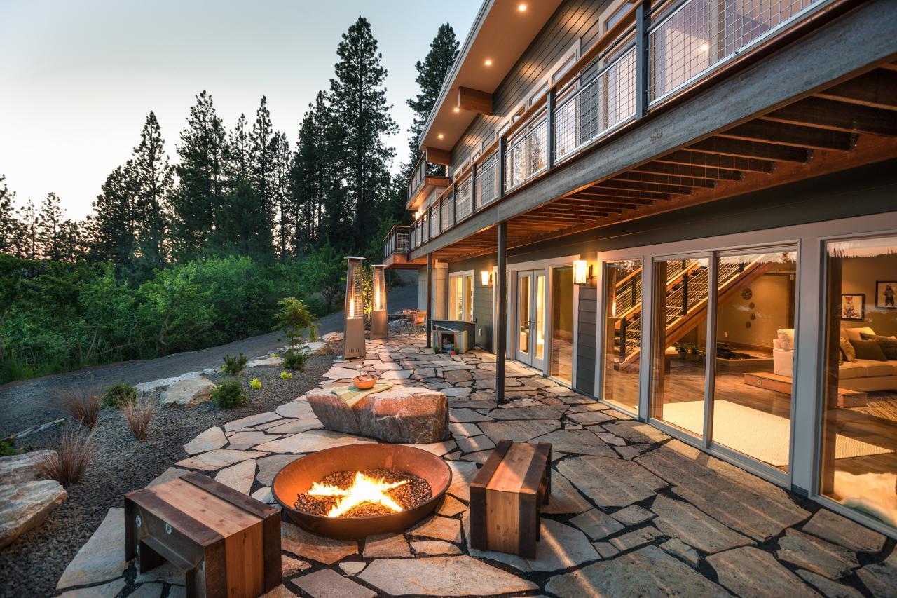 Star-Studded Fireplace