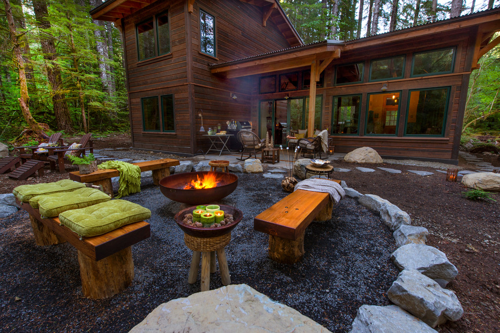 Rustic Campfire