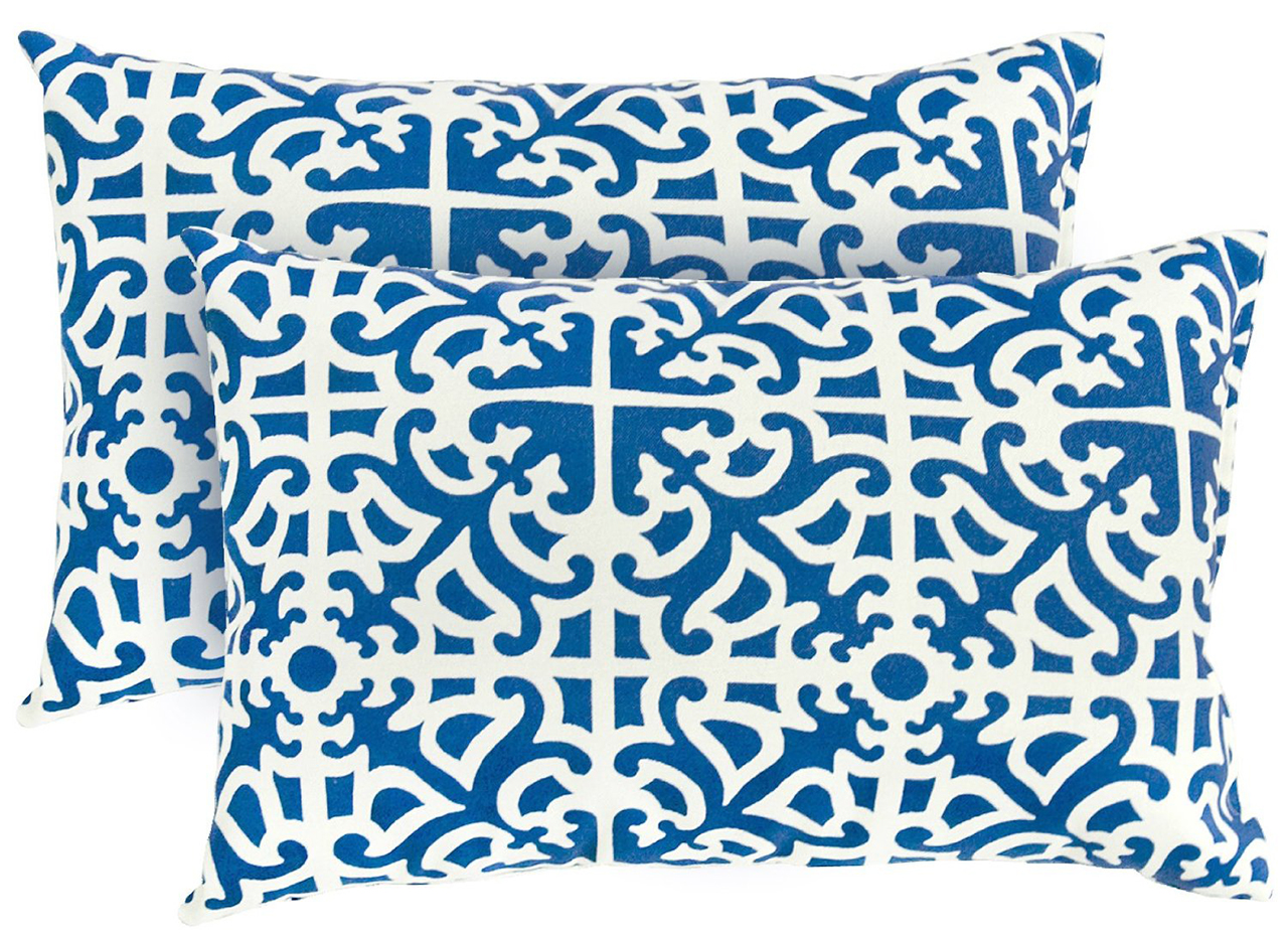 Indigo Print Design Pillows for Sofa Covers for Indoors or Outdoors. Throw Pillow Ideas