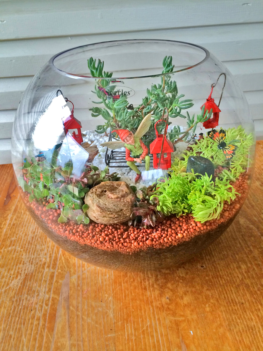 Miniature Fairy Garden Ideas Part - 26: I Was Waiting For You!
