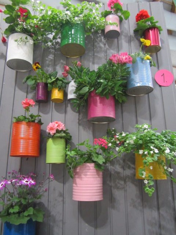 Vertical Garden Ideas vertical gardening with pocket planters Creating A Vertical Garden With Recyclables