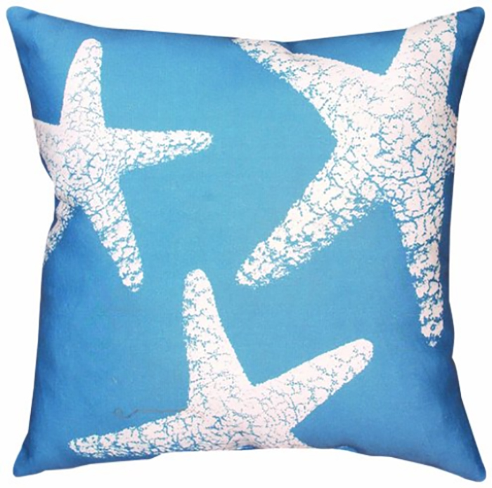 40 of the Best Throw Pillows to Buy in 2016 : 40 throw pillow navy blue nautical nonsense starfish pillows for outdoors homebnc from homebnc.com size 700 x 695 jpeg 227kB