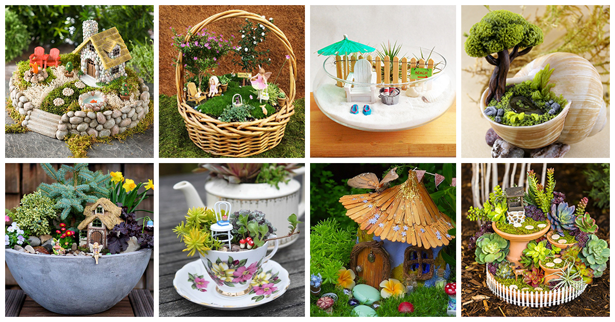 The 50 Best Diy Miniature Fairy Garden Ideas In 2016