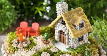 Miniature DIY Fairy Gardens