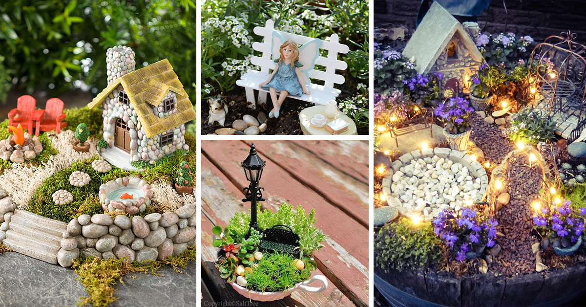 Ideas For Fairy Gardens best 25 miniature fairy gardens ideas on pinterest The 50 Best Diy Miniature Fairy Garden Ideas In 2017