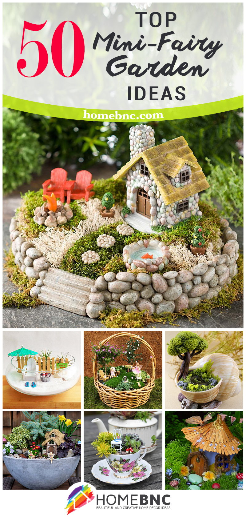 Miniature DIY Fairy Gardens