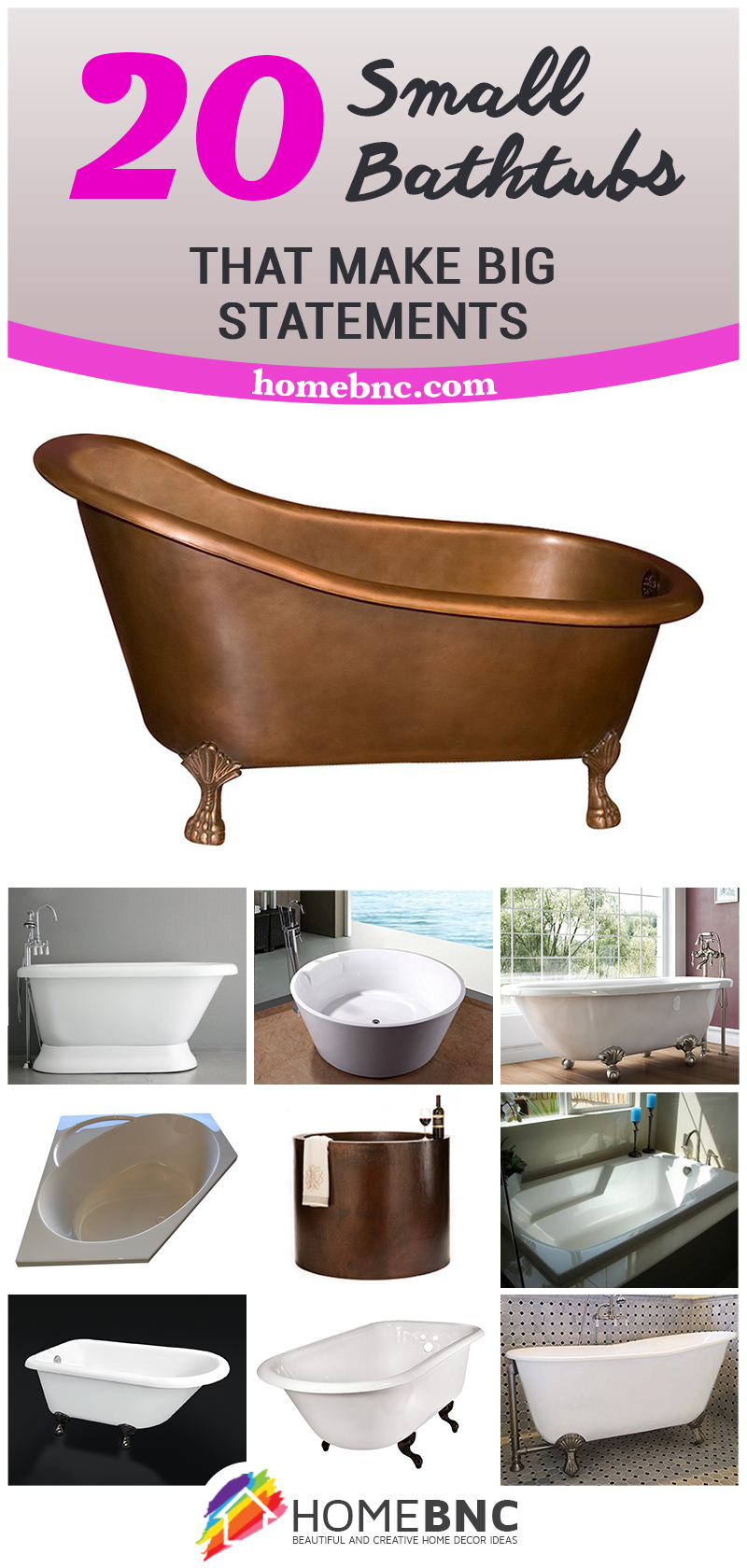 20 Best Small Bathtubs To Buy In 2019