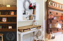 DIY Pallet Furnitures