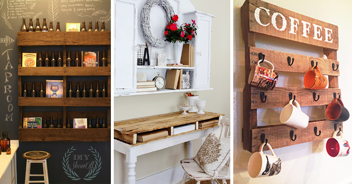 50 Of The Most Creative Pallet Furniture Design Ideas