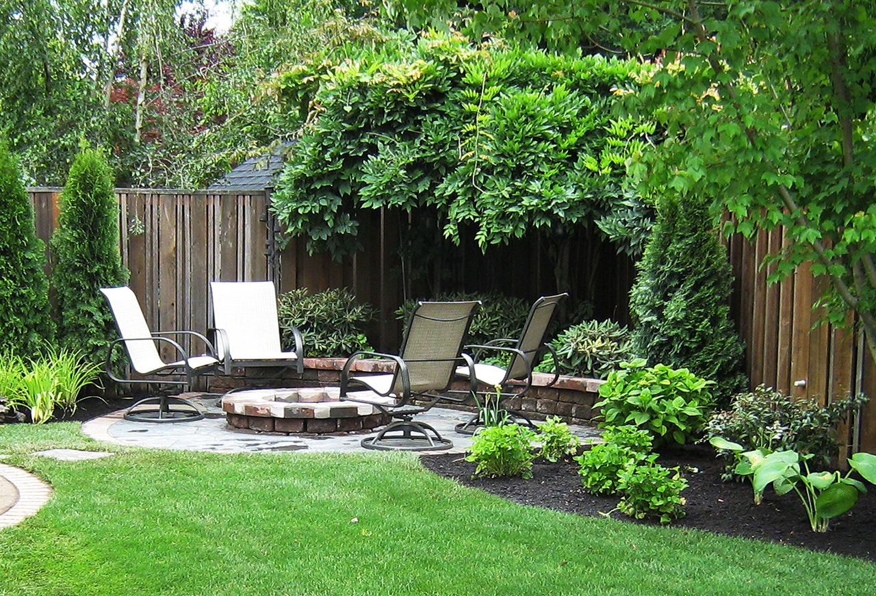 How to landscape backyard outdoor goods for Landscape garden idea nottingham