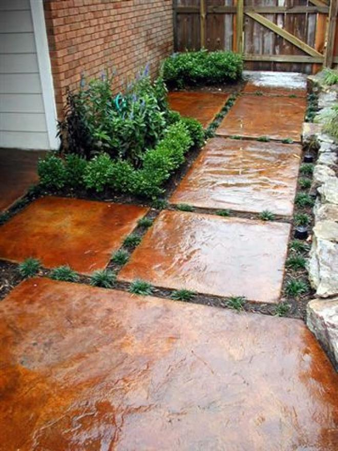 30 best decorative stepping stones ideas and designs 2017 - Yard stepping stone ideas ...
