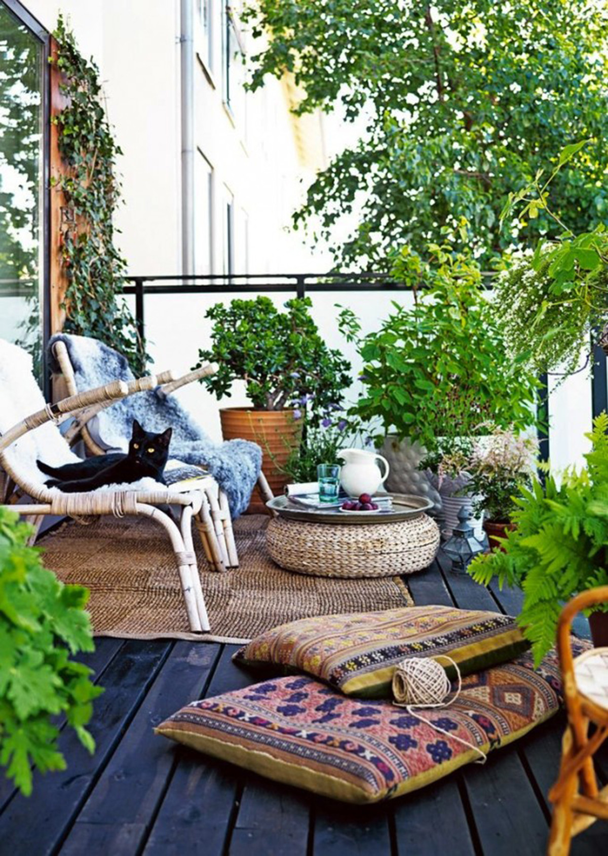 Small Balcony Apartment Rustic: 50 Best Balcony Garden Ideas And Designs For 2019